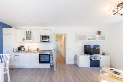 Küche und TV-Bereich