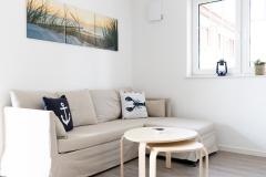 Wohnzimmer Seestern und Muschel