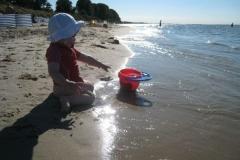Flaches Wasser für Kinder